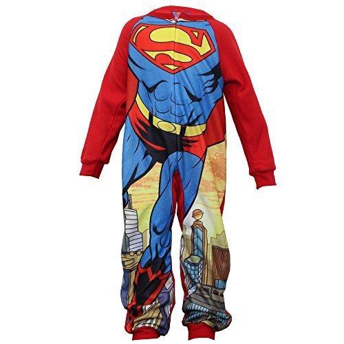 Mädchen Jungen Overall Kinder Strampelanzug Sommer Alles In Eins Batman Strampelanzug Superheld Neu - ROT - LAHM2279, (Die Kostüme Spiderman Verschiedenen All)