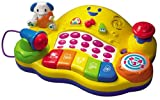Best VTech Toddlers Toys - Vtech Musical DJ Junior Piano, Multi Color Review