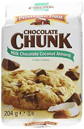 pepperidge-farm-cookies-crispy-milk-chocolate-coconut-almond-204-g-lot-de-5