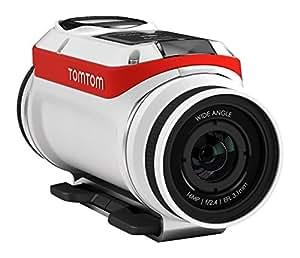 TomTom Bandit Bike Pack Actionkamera (Inkl. speziellem Bike-Zubehör, Wasserdicht, 3 Stunden Akkulaufzeit, keine Kabel erforderlich, eingebaute Sensoren)
