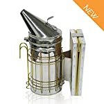 ASPECTEK Bee Hive Smoker, Beekeeping Equipment, Heavy Duty Stainless Steel Large Size, Superior Airflow Bellow and… 8