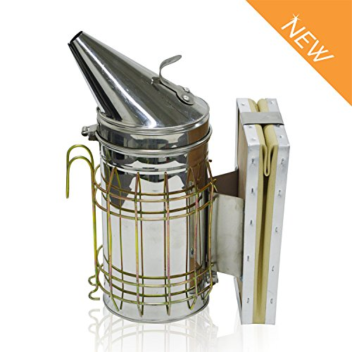 Aspectek Bienenstock Raucher - Raucherzeugung für Imkerei - Premium Imker-Zubehör