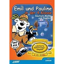 Geburtstagsausgabe: Emil und Pauline in der 4. Klasse. Deutsch, Mathe und Englisch (2 CD-ROM)