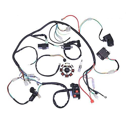 JRL Fil Harnais kit de C/âblage de Montage pour 50/70/90/110/125/CC ATV /électrique Quad