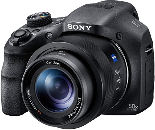 Sony Cybershot DSC-HX350 20.4MP Compact Digital Camera with 50x Optical Zoom (Black)