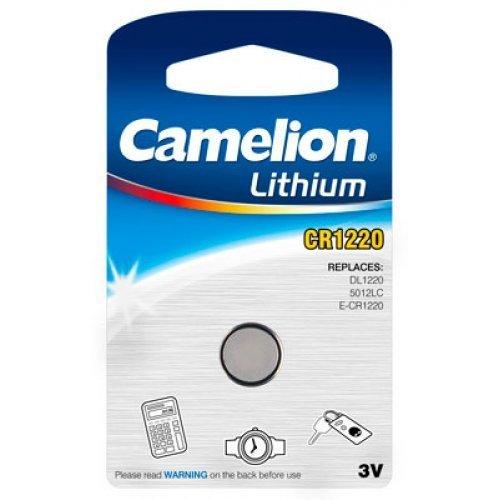 Pile bouton lithium CR1220 - 3V