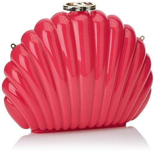Pepaloves - Shell Clutch, borsa Donna Rosa