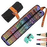 72 Aquarell Buntstifte Set, Nakeey Zeichnen Bleistifte Art Set für professionelle Farbmischung Malen und Skizzen, weiche wachsbasierte Holzfarbstifte perfekt für Schüler Kinder Malbücher