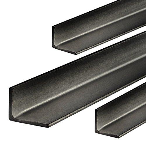 Stahl Winkel L Profil Stahlwinkel Winkeleisen Roh Schwarz 10x10x2mm 500mm