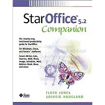 StarOffice 5.2 Companion (Sun Microsystems Press Staroffice Series)