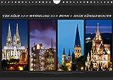 Von Köln nach Königswinter (Wandkalender 2018 DIN A4 quer): Eine Fotoreise von Köln nach Königswinter (Monatskalender, 14 Seiten ) (CALVENDO Orte) [Kalender] [Apr 01, 2017] Bonn, BRASCHI