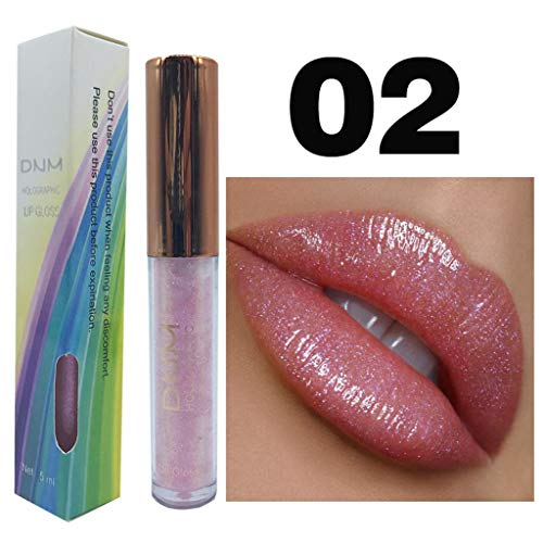 Lipgloss Light Lipstick Makeup Flüssigkeit Mermaid Bright Pearl Lip Gloss Lippen Wasserdichte...