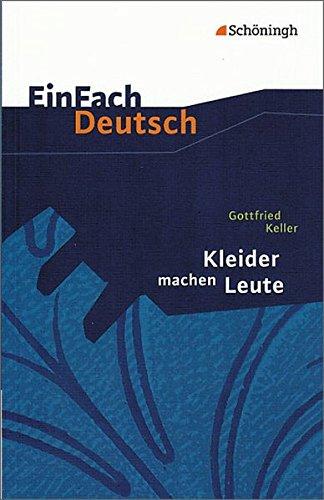 einfach-deutsch-textausgaben-gottfried-keller-kleider-machen-leute-klassen-8-10