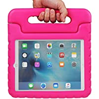 NEWSTYLE Apple iPad Pro Custodia antiurto leggero bambini Custodia Super protezione cover manico supporto custodia per bambini per Apple iPad Pro 12.9 inch iOS 9 2015 Release Tablet rose