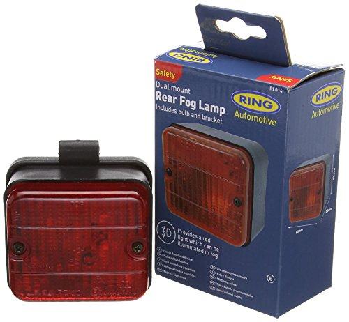 Ring Automotive RL014 Fanale Retronebbia Rosso Quadrato