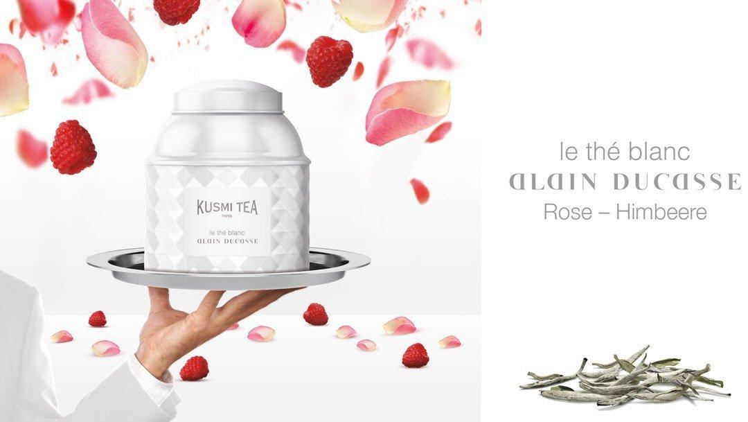 KUSMI-Tea-Paris-WHITE-TEA-ROSE-RASPBERRY-Weier-Tee-Rose-Himbeere-by-Alain-Ducasse-120gr-DOSE
