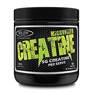 Sinew Nutrition Micronised Creatine Monohydrate - 300g (Unflavoured)