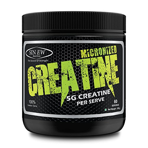 Sinew Nutrition Micronised Creatine Monohydrate - 300g / 0.66 lb...
