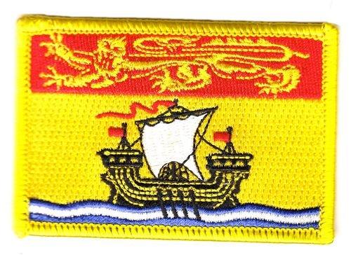 Flaggen Aufnäher Patch Kanada - New Brunswick Fahne Flagge