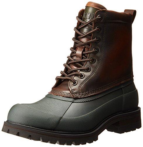 FRYE Mens Alaska Lace-Up Rain Boot Forest/Multi