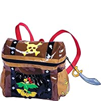 Kidorable Pirate Backpack, Brown, One Size by Kidorable