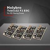Leoboone Holybro 4PCS Tekko32 F3 35A ESC BLHeli_32 3-6 F3 MCU Dshot1200 KSX3204 RC Racing Drone Telecomando Costruito nel sensore di Corrente