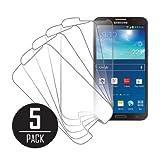 Empire MPERO Sammlung 5 Packung von Klar Displayschutzfolie Film for Samsung Galaxy Round G910
