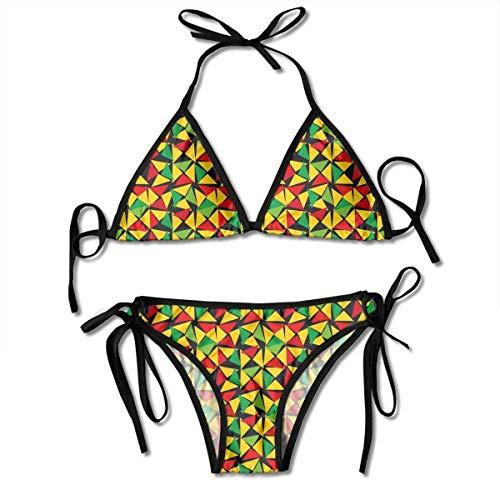 MSGDF Bikini Swimwear Women's Strappy Bikini