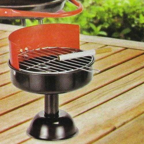 Portacenere Posacenere in metallo griglia design balcone, 11,5cm partito tazze (Set di 3)