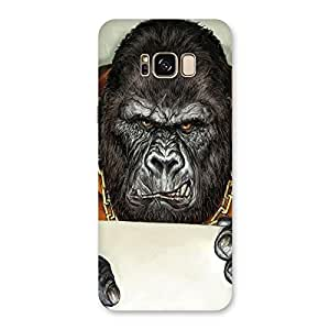 Neo World Angry Monkey with Envelope Back Case Cover for Samsung Galaxy S8 Plus