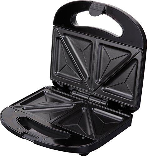 Jata SW232 - Sandwichera con recubrimiento antiadherente, 780 W, color negro