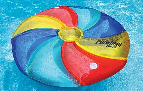 Swim Central 152,4 cm Sports d'eau Gonflable Pinwheel Island et Piscine Gonflable Chaise Longue