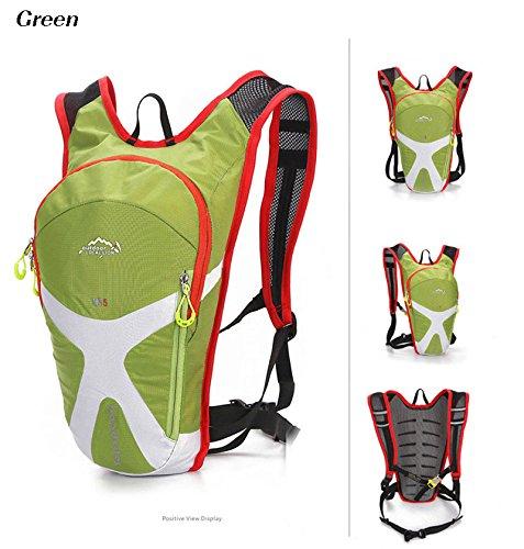 West Biking Mini Bike-Rucksack 5L 8 Farben grün