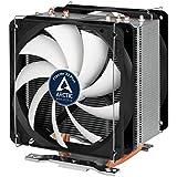 Arctic Freezer 33 Plus - Semi-passiver Tower CPU Luftkühler, Prozessorlüfter für Intel und AMD Sockel bis 320 Watt Kühlleistung, Cooler mit 120 mm PWM Lüfter - Leise und Effizient