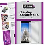 dipos I 2X Schutzfolie klar passend für Vernee Mars Pro Folie Displayschutzfolie