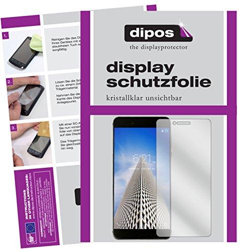 dipos I 6X Schutzfolie klar passend für Vernee Mars Pro Folie Bildschirmschutzfolie