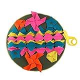 H2okp-009 Colchonetas de Entrenamiento para Mascotas de Color Costuras Desmontables Alfombra para Olfatear Perros Almohadilla de Presión de Liberación para Mascotas 3#
