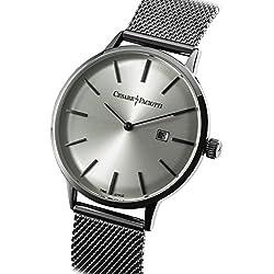 Uhr Cesare Paciotti Herren 42mm tsst127nur Zeit Armband Stahl Trikot Milano
