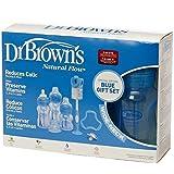 Dr. Brown's Natural Flow Biberon Anticolico - Set de Regalo Edición Especial (Azul)