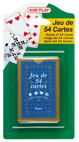 Cofalu Kim'Play - Jeu de carte - Jeu De 54 Cartes  - Lux