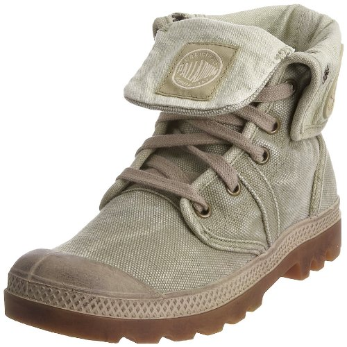 Palladium PALLABROUSE BAGGY BLACK/VAPOR M 92478-011-M, Stivali donna, Multicolore (Beige (DK KHAKI/PUTTY)), 40