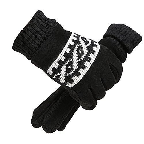 Preisvergleich Produktbild Unisex Winter Handschuhe Touchscreen Warm Winddicht Dick Rutschfeste für Männer Frauen
