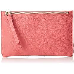 Liebeskind Berlin Damen Kiwif8 Hiddvi Taschenorganizer, Pink (Coral Pink), 1x20x13 cm
