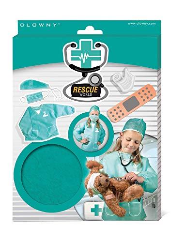 SES Creative Hobby e creatività Istruttivo ed educativo Carnevale Giochi di ruolo Accessori da Chirurgo Rescue World Bambini unisex Multicolore