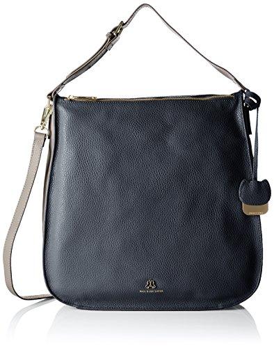 Paul & Joe SisterShoulder bag - Borse a Tracolla Donna , Blu (Blau (003)), 33x32x9 cm (B x H x T)