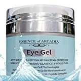 Eye Gel for Dark Circles, Puffiness, Wrinkles, Skin Firming and Bags - Effective