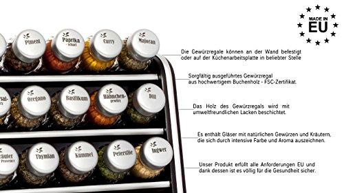Gald Gewurzregal Kuchenregal Fur Gewurze Und Krauter 30 Glaser