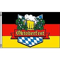 AZ FLAG Bandera de Alemania Oktoberfest 150x90cm - Bandera Fiesta DE Octubre - Cerveza 90 x