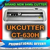 NEW UKCUTTER 64Mb CACHE CT630H VINYL CUTTER PLOTTER QUICK AND SILENT