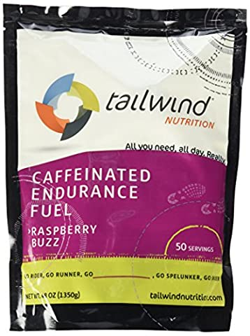 Tailwind Nutrition - 50 Serving - Caffeinated Raspberry Buzz Flavour
